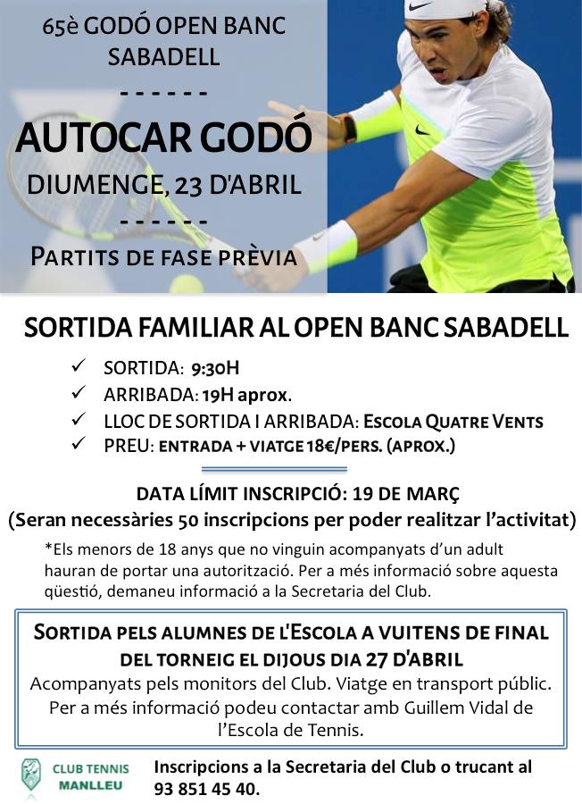 Cartell Open Banc Sabadell