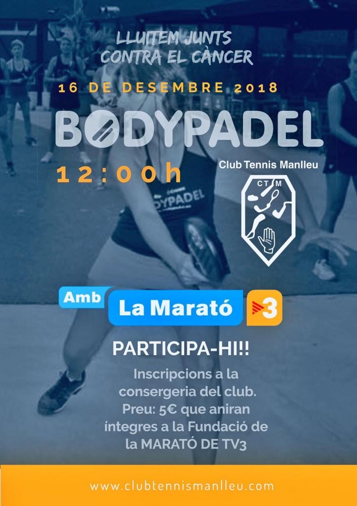 Cartell Marató tv3 Bodypàdel