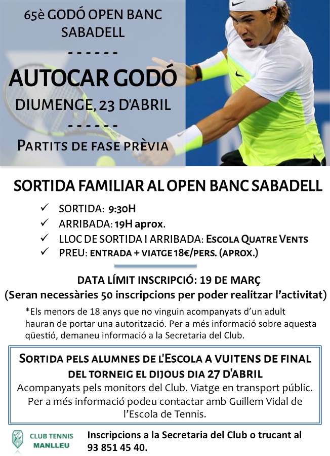 Cartell Open Banc Sabadell