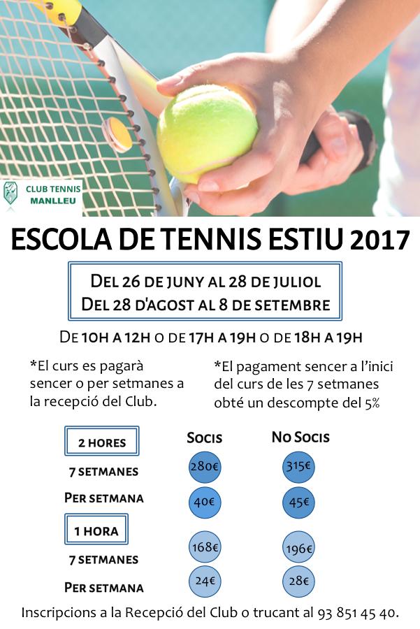 escola estiu tennis