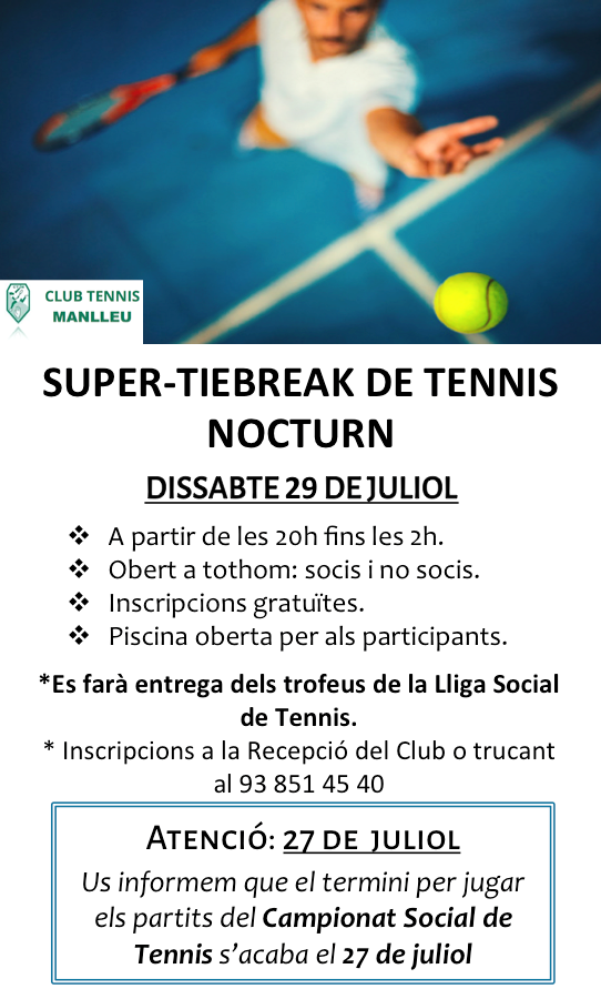 Súper tiebreak tennis
