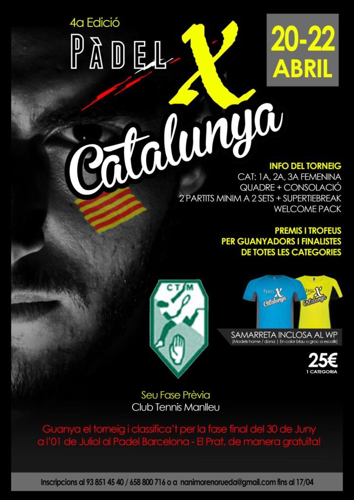 cartell Padel X Catalunya