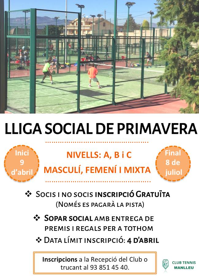 lliga social 2018
